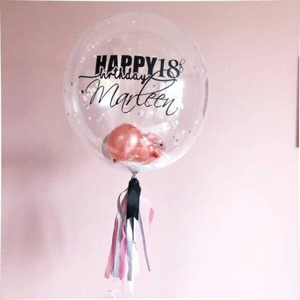 Gepersonaliseerde verjaardag ballon