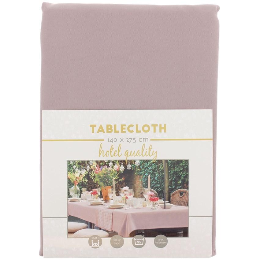 Roze tafelkleed huren
