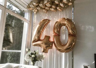 heliumballonnen goud Amsterdam bestellen